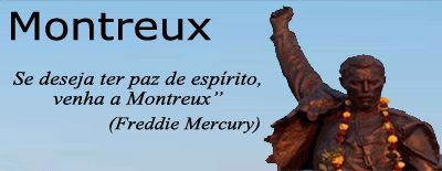 """A estátua de Freddie Mercury em Montreux, inaugurada em 25.11.1996, tem cerca de 3 metros de altura e foi esculpida por Irena Sedlecka. A partir de 2003, fãs de todo o mundo se reúnem no local no primeiro fim de semana de setembro para homenageá-lo, como parte da comemoração do """"Freddie Mercury Montreux Memorial Day""""."""