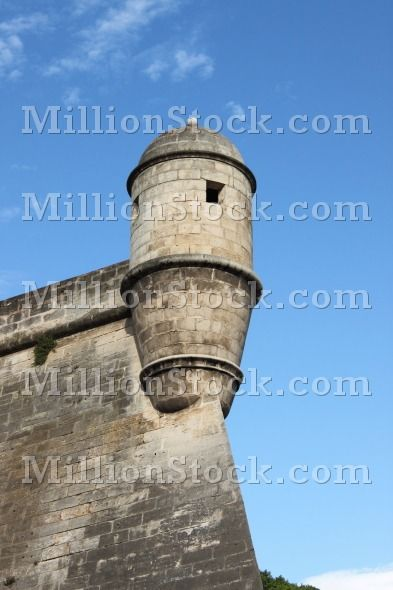 Es Baluard Fortress in Palma de Mallorca, Spain