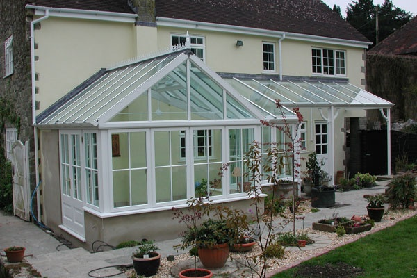 Verandah's make a wonderful covered walkway and extends your Conservatory on those sunny summer days.