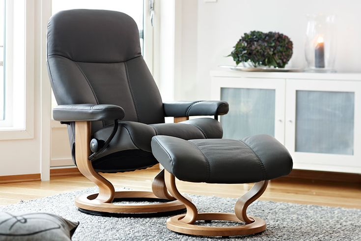 Stressless Ambassador | Stressless Consul | Stressless Diplomat | Leather Recliner Chairs