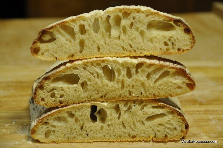 La video ricetta passo passo con tutti i trucchi per fare il pane ciabatta in casa