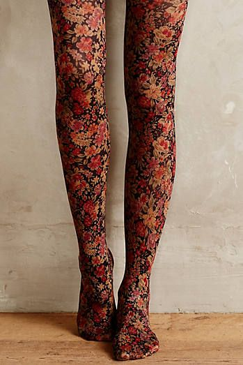 Ditsy Tights