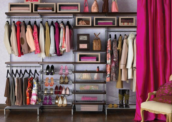 17 best ideas about cheap closet organizers on pinterest closet storage closet ideas and diy. Black Bedroom Furniture Sets. Home Design Ideas