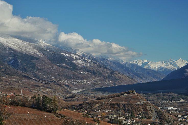Schweiz  Suisse Switzerland Wallis Valais Sierre