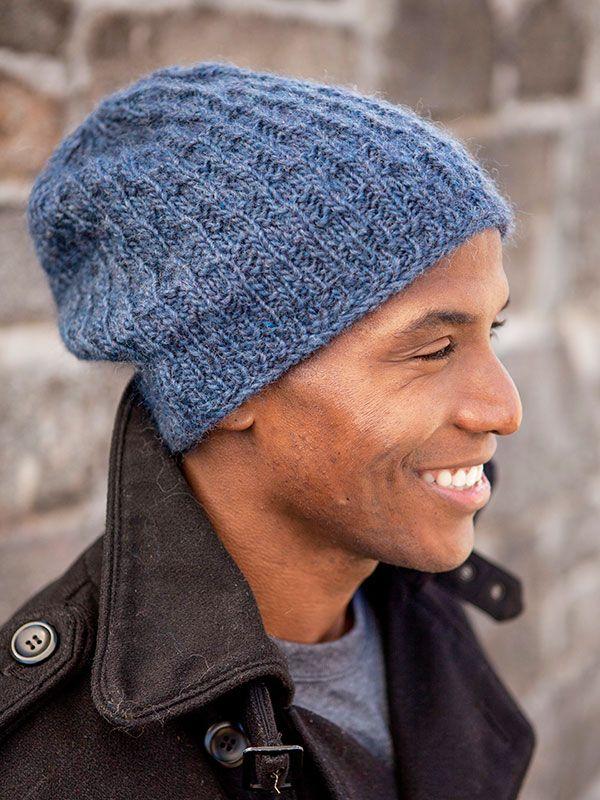 Tinson free hat pattern by Berroco Design Team