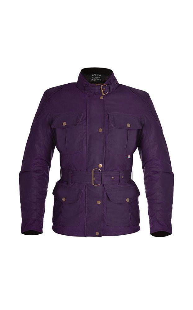 NEW! Oxford Bradwell Ladies Wax Cotton Motorcycle Jacket - LadyBiker.co.uk