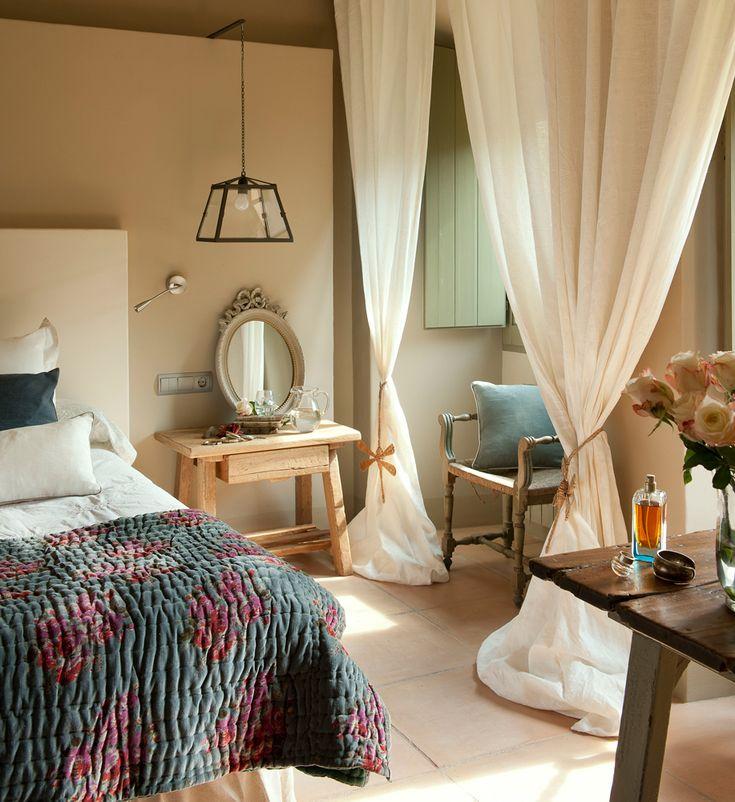Mejores 446 im genes de bedroom ideas en pinterest ideas - Visillos para dormitorios ...