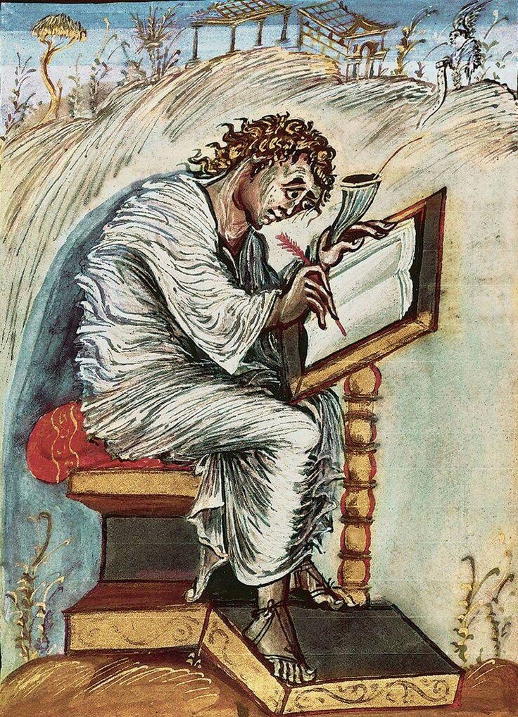 Evangelario di Ebbone. 816-823 . Biblioteca  di Epernay
