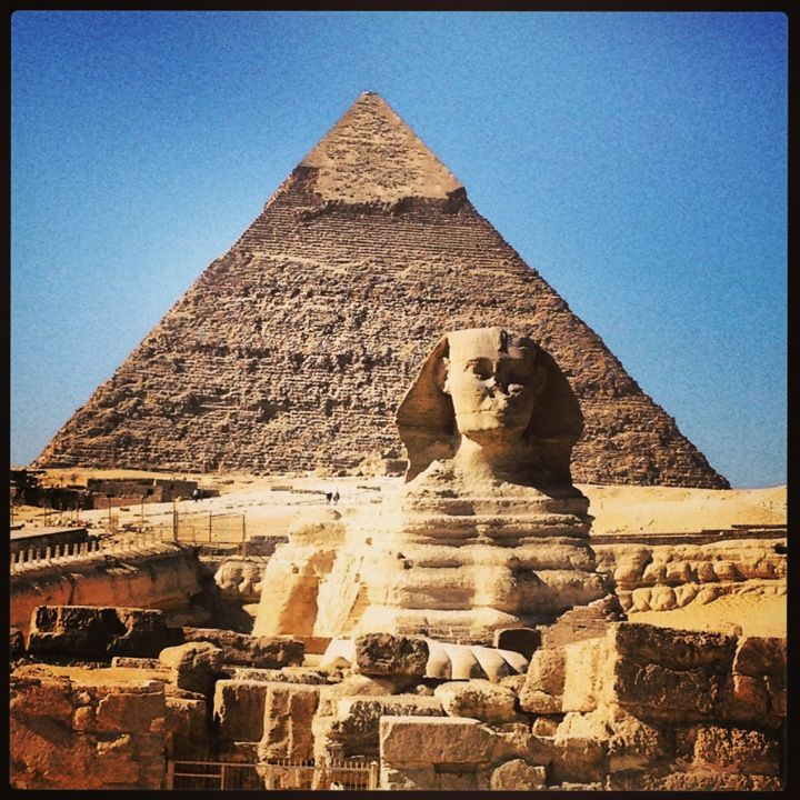 Great Pyramids of Giza in الجيزة, Muḩāfaz̧at al Jīzah #NatGeoWanderListContest
