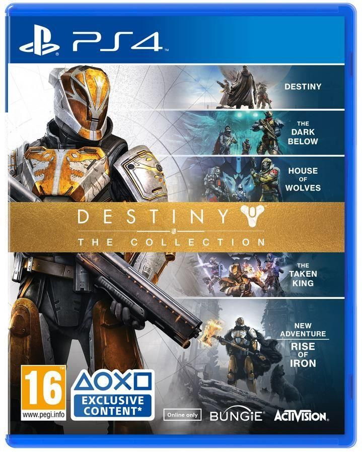 """Gra Destiny """"Rise of Iron"""" Complete Collection (PS4)"""