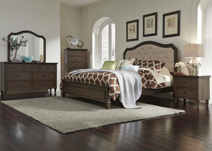 Berkley Heights King Bedroom Group by Liberty Furniture at Royal Furniture