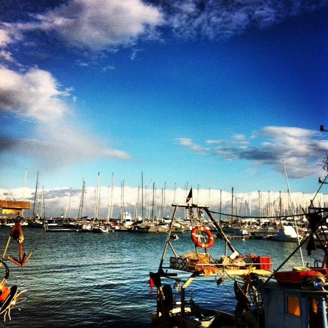 Port of San Benedetto del Tronto n the province of Ascoli Piceno, #Marche, #Italy.