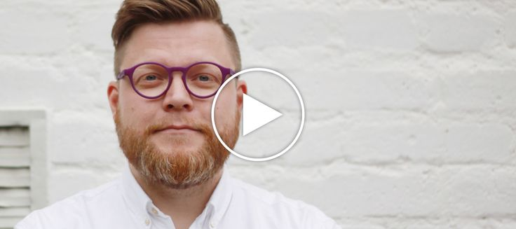 Theo Smith, purple. Kokosom eyewear.
