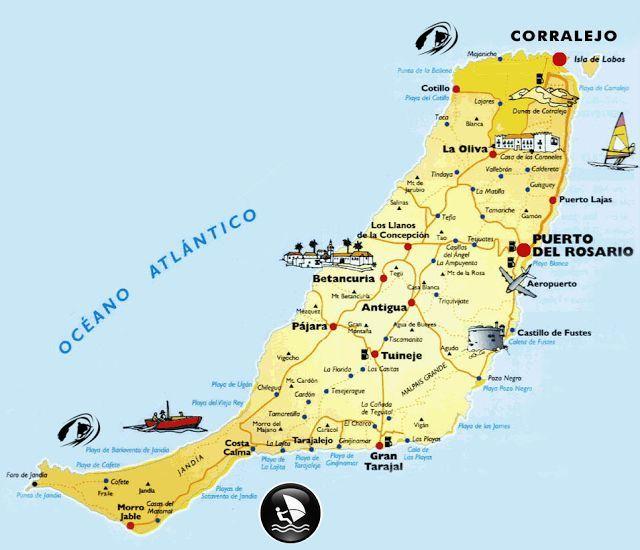Les îles Canaries: Fuerteventura