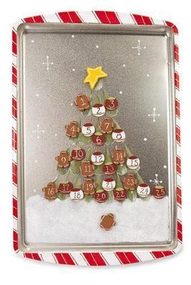 Advent Cookie Sheet Calendar