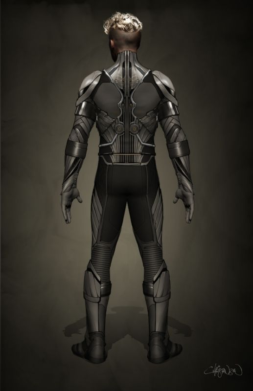 Angel concept at from X-Men: Age of Apocalypse<br />