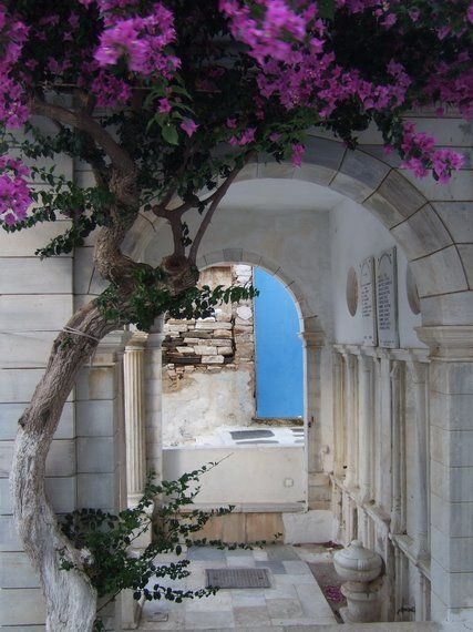 Hiding places….. island of Tinos Greece