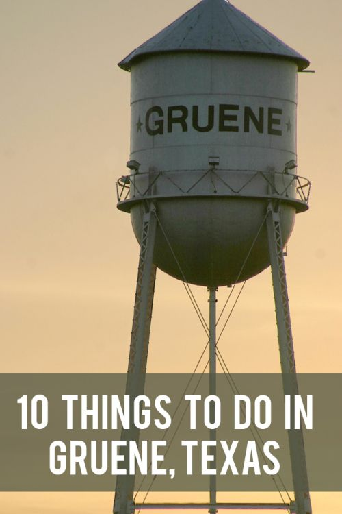 one of the Best small town destinations in Texas: Gruene, TX
