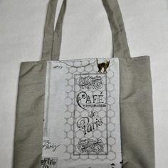 """Tote bag """" paris...."""" trés bonne qualité"""