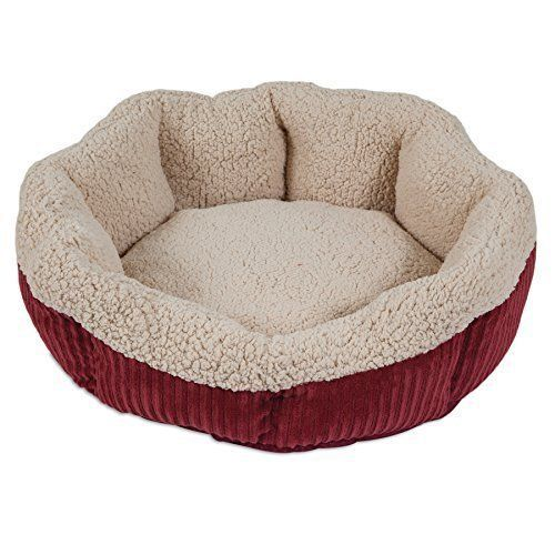 Pet Bed Cat Kitten Kitty Warm Soft Round Sleeping Bed Lounger Cozy Brand New  #CatBed