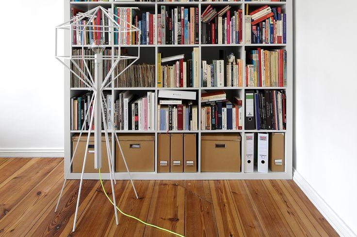 Floor lamp 'HIVE'. Creation by ©Studio Homewerk www.homewerkberlin.com Manufactured by Atelier13Douze