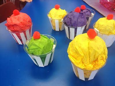 St. Martha Catholic School Artists: Camilla the cupcake fairy - 1st grade