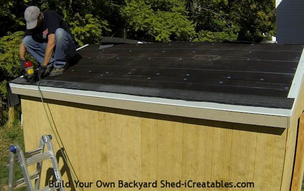 How To Install Asphalt Shingles Install Starter Strip Installing Roof Shingles Roof Shingles Building A Shed