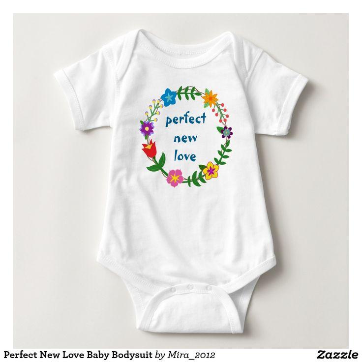Perfect New Love Baby Bodysuit
