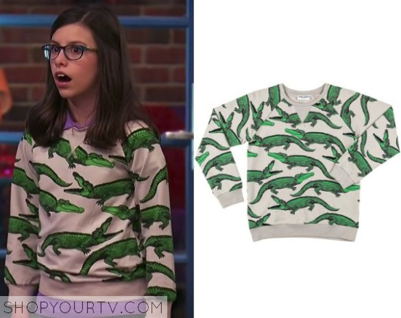 Game Shakers: Season 1 Episode 1 Kenzie's Alligator Sweater