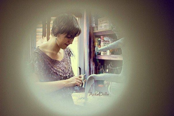 #AekaDolls #workspace #artist #art #doll #artstudio #artspace #мастерская #скульптор #художник