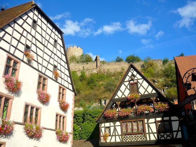 Kaysersberg er en rigtig smuk og dejlig by