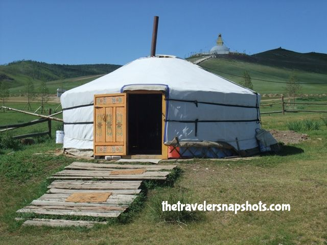 Mongolian Ger « One of the thing you should add in your list  if you went trekking to Mongolia is sleeping in a ger with a  nomadic family.