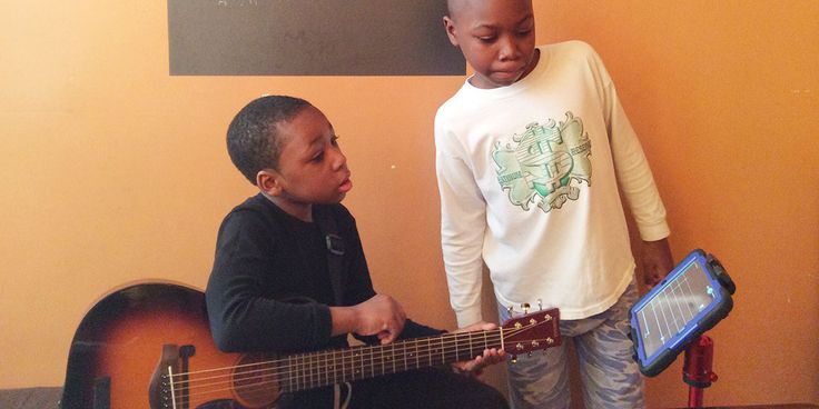 Xavier and Ethan guitar skills have both excelled very quickly since they have started using Rock Prodigy.