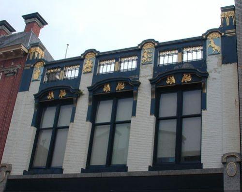 Marktstraat, voorheen zat in dit pand de Gruyter & Zn
