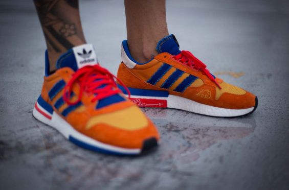 b79fd9cec8b2dd Are You Waiting For The Dragon Ball Z x adidas ZX 500 RM Son Goku ...