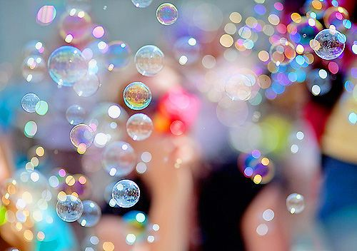 FACT: You can not simultaneously blow bubbles and be in a bad mood.  I dare you to try it.
