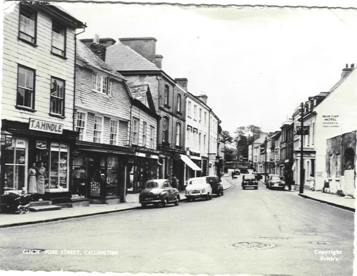 """Callington Cornwall, where my father's family came from.  Lived here until about 1872 when they """"emigrated"""" to Lancashire to work in the new Cotton Mills"""