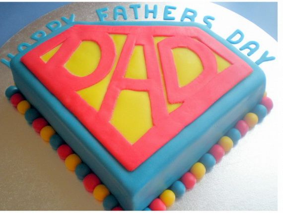 Fathers Day gifts Homemade Cake Gift Ideas -