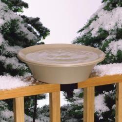 Heated Bird Bath with EZ Tilt Deck Mount and Pole 45.03