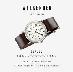 10 Classy Men's Watches Under $100