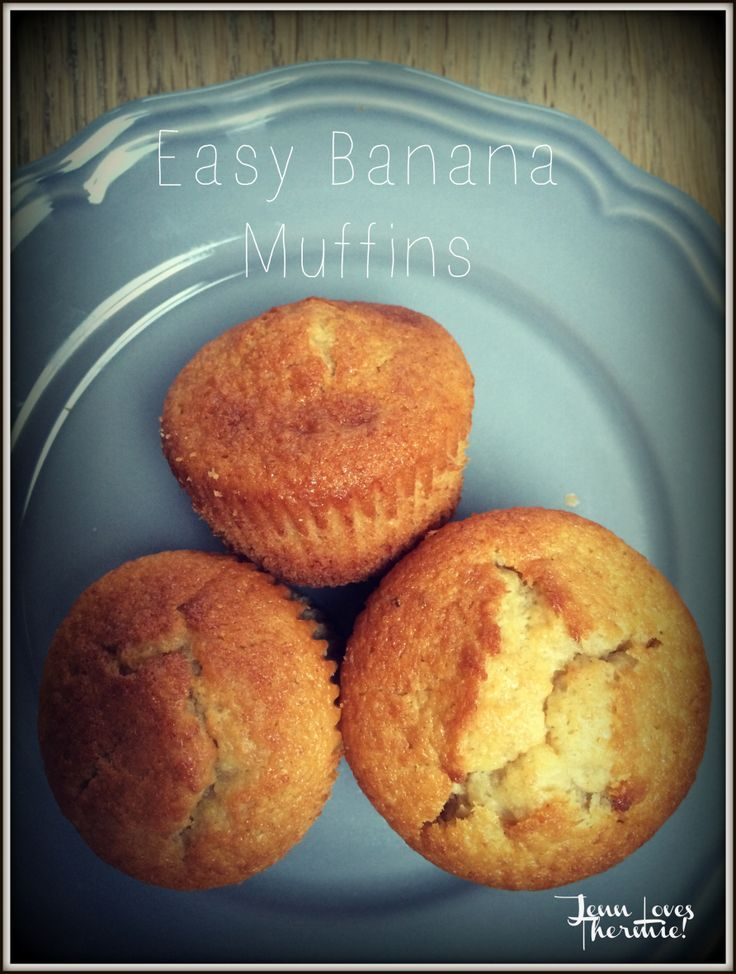 Thermomix Banana Muffins