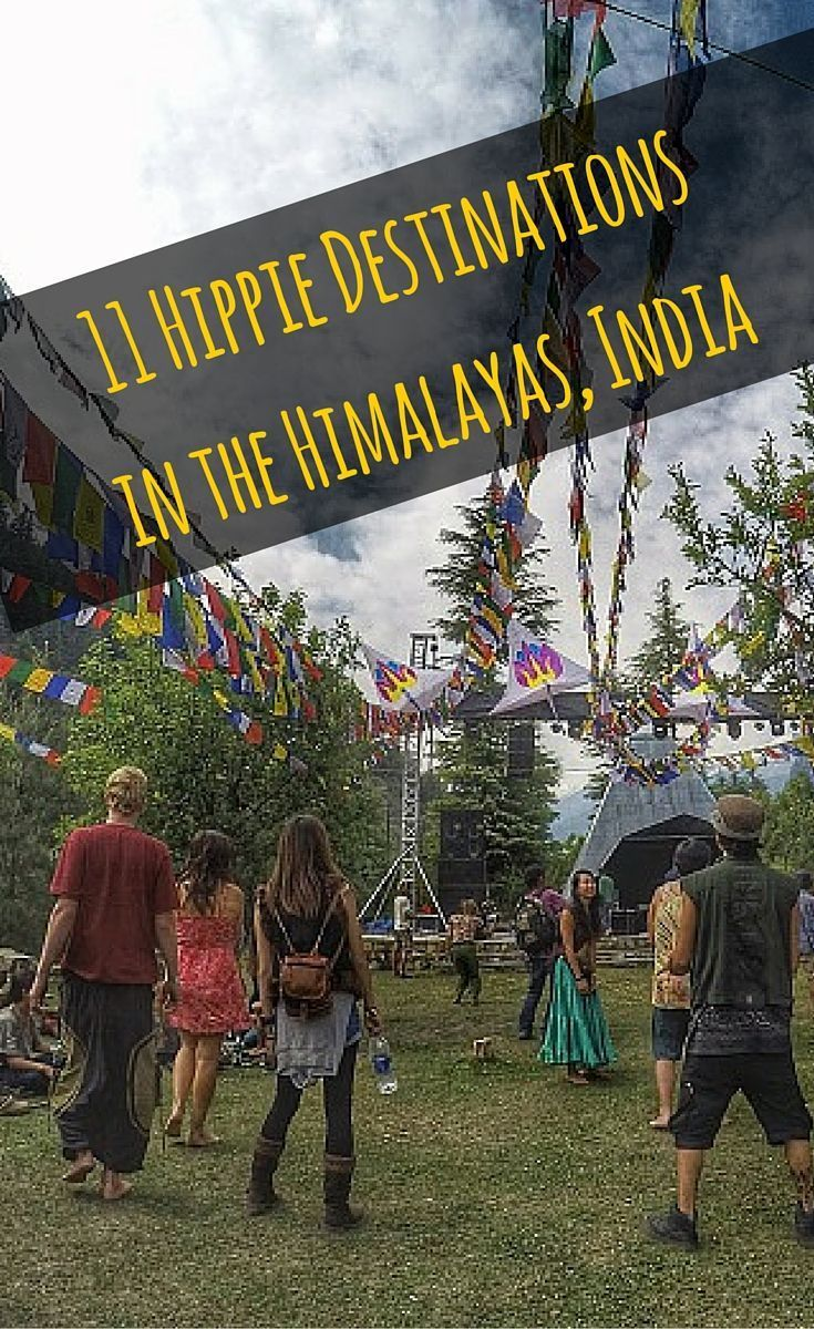 11 Hippie Destinations in the Himalayas, India - right on India's famous Hippie Trail. #Kasol #Hippie #HippieTrail #Himalayas #Himachal