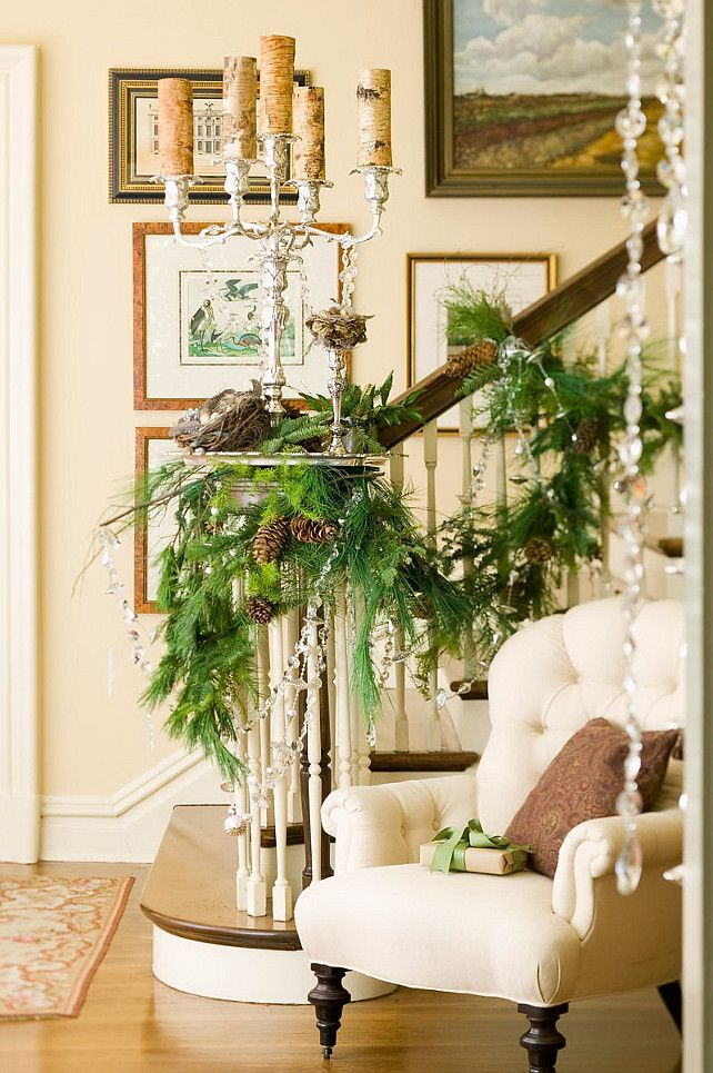 1338 best holiday open house images on pinterest open for Foyer christmas decorating ideas