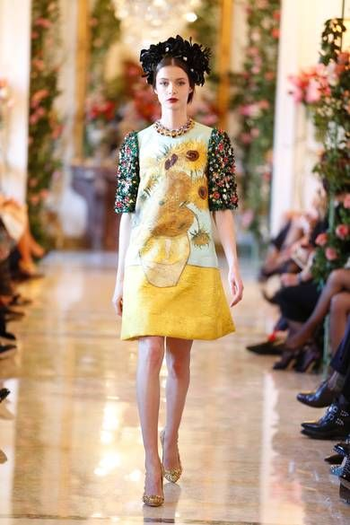 Dolce & Gabbana Alta Moda spring/summer 2014: Inside the floral home of elite couture - Telegraph