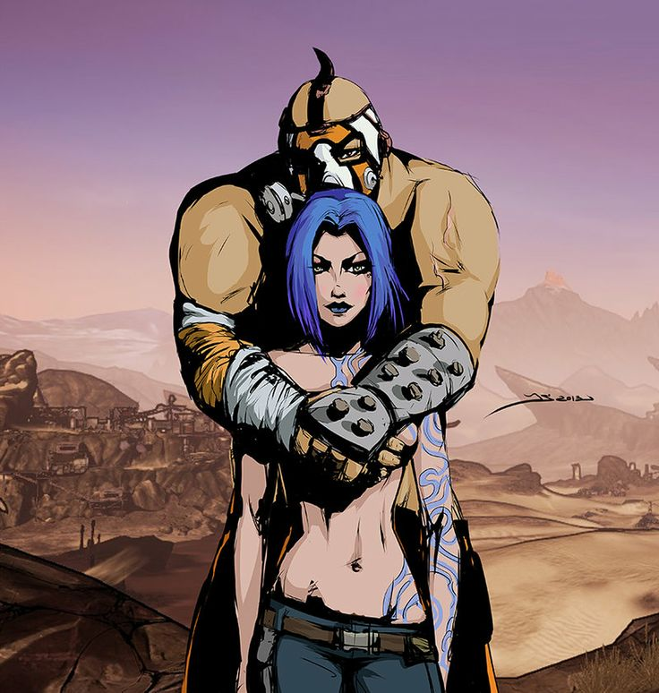 Krieg and Maya_color by Koshha.deviantart.com on @deviantART