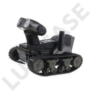 Spion Tank (Sort) Fjernstyret kamera Tank til Smartphones