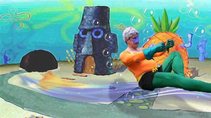 Mermaid man (sirenoman) - Esteban HN(The Doctor) Spongebob Squarepants Cosplay Photo - WorldCosplay