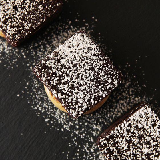 Chokoladekage med lakridskaramelcreme - Madsymfonien