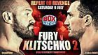 #Ticket  1 Ticket Fury vs Klitschko #deutschland