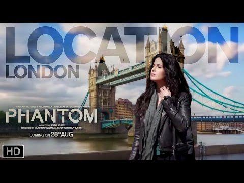 Phantom   Location London   Behind the scenes